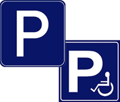 carpark signs
